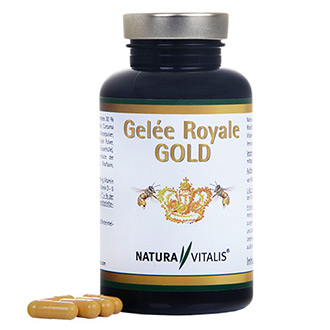 gel e royale gold 180 kapseln natur vital shop. Black Bedroom Furniture Sets. Home Design Ideas