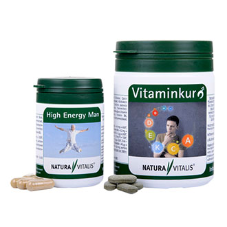 Vitaminkur für den Mann + High Energy Man