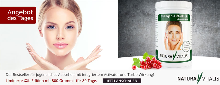 Collagen-Lift-Drink (800g) mit Activator